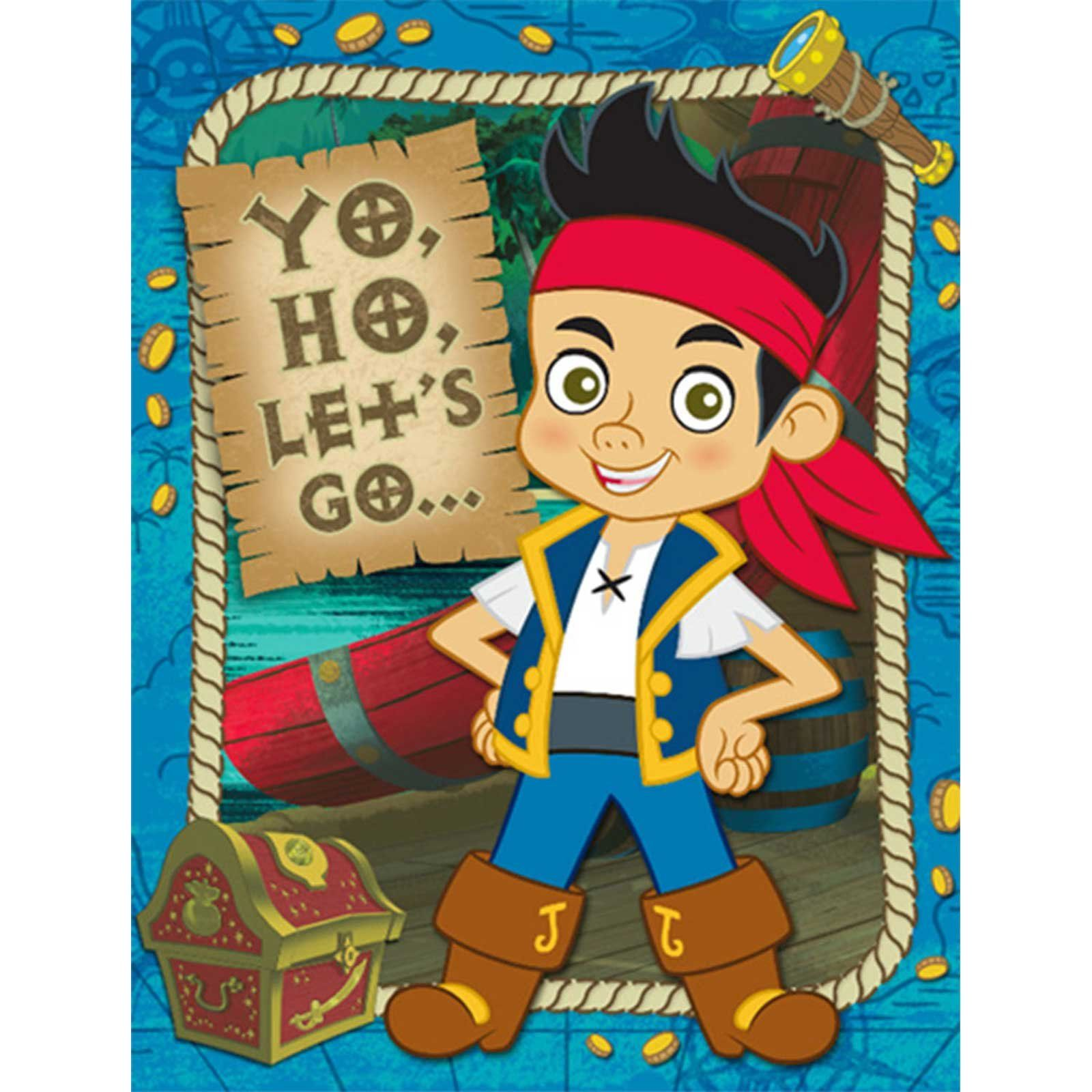 Disney Jake and the Never Land Pirates Invitations | Pirate ...