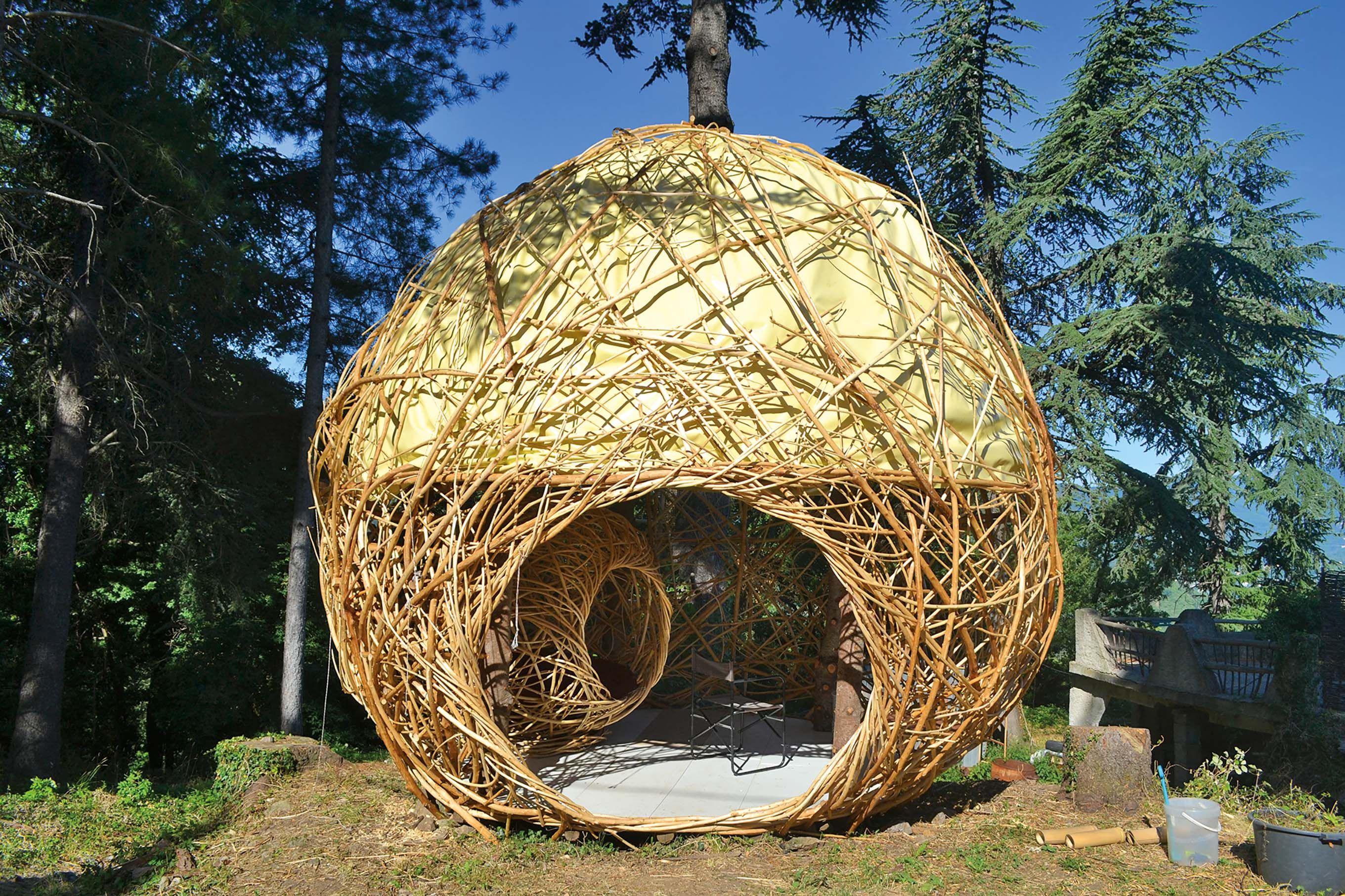 Construire Soi Meme Une Cabane En Bois extérieur : la cabane boule | cabane, maison écologique et