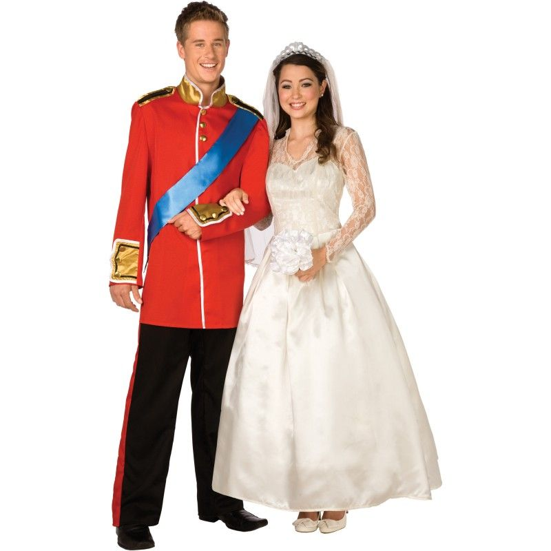 couple costume idea prince william and kate middleton - Prince Charming Halloween Costumes