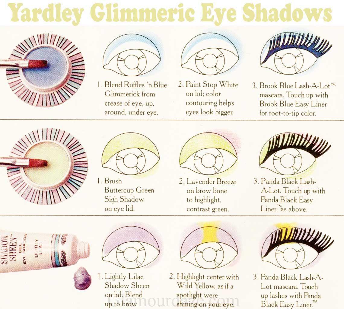 Yardley 1970s glimmerick sigh shadow eye shadow chart makeup yardley 1970s glimmerick sigh shadow eye shadow chart geenschuldenfo Gallery