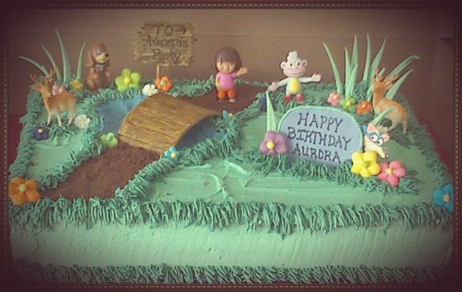 Dora the explorer birthday cake birthday dora the
