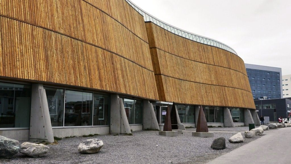 Nel 1997 inaugura il Cultural Center of Greenland a Nuuk