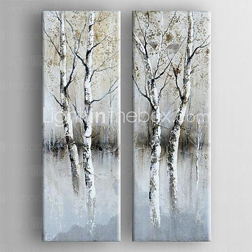 Handgemalte Bilder Auf Leinwand handgemalte abstrakt zwei panele leinwand hang ölgemälde for haus