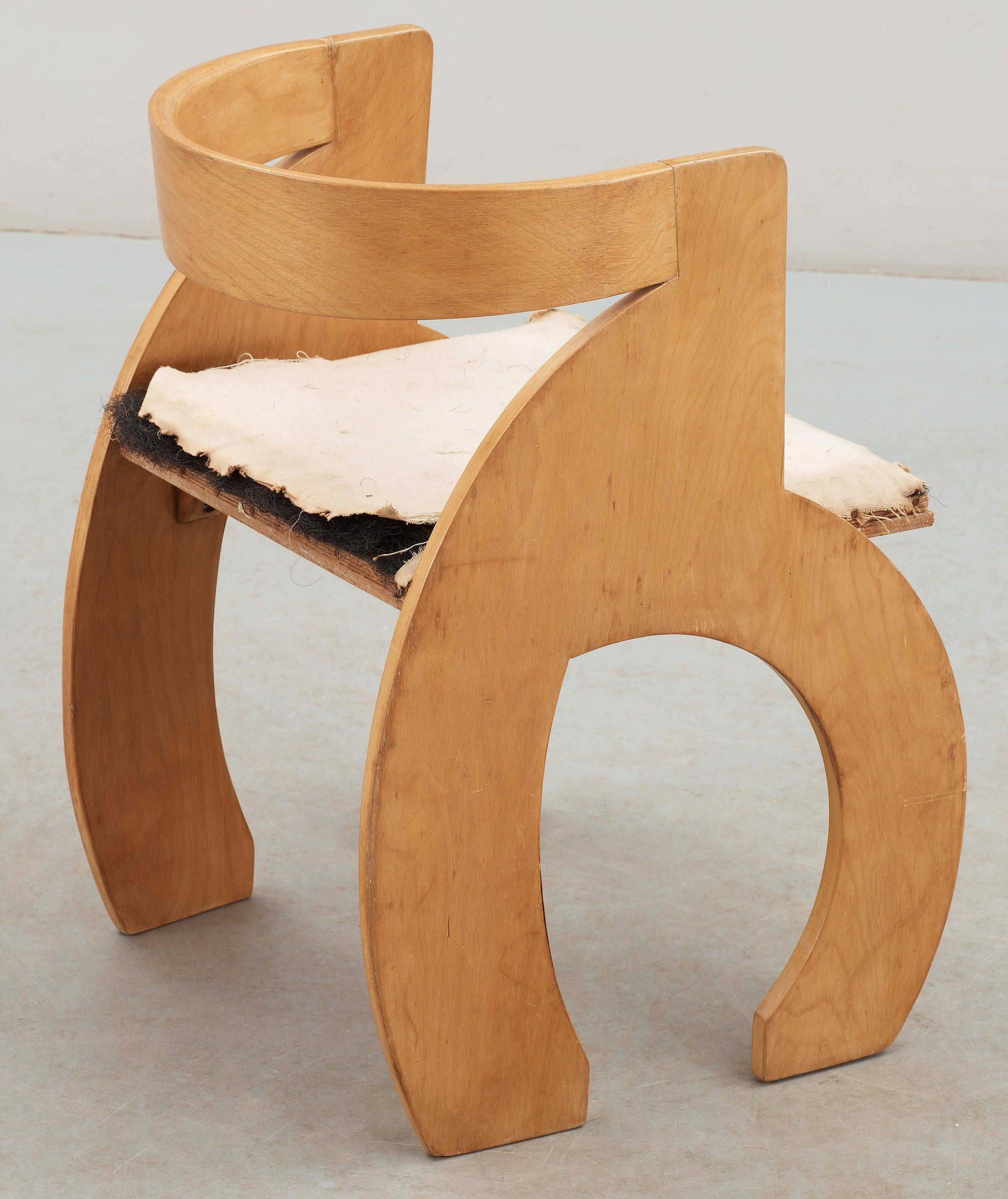 Simple plywood chair - Gerald Summers Birch Laminate Chair For Simple Furniture 1930s