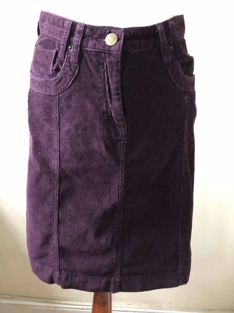 4c2e342d14de Mantaray Size 8 Plum Corduroy Skirt #fashion #clothing #shoes #accessories  #womensclothing #skirts (ebay link)