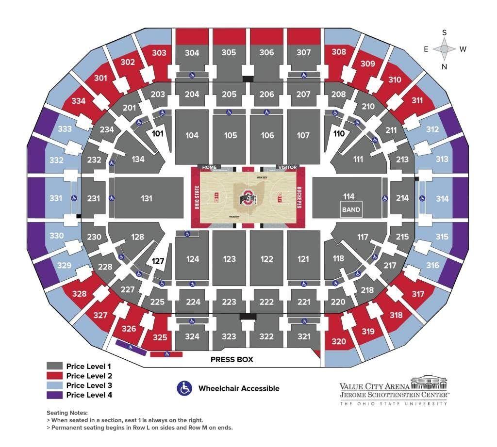 Fine Men Seating Plan Ohio State Stadium Ohio State Football