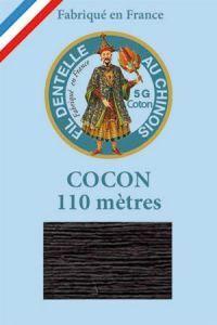 Farbiges Klöppelgarn Cocon Calais Nr. 6148 anthrazit