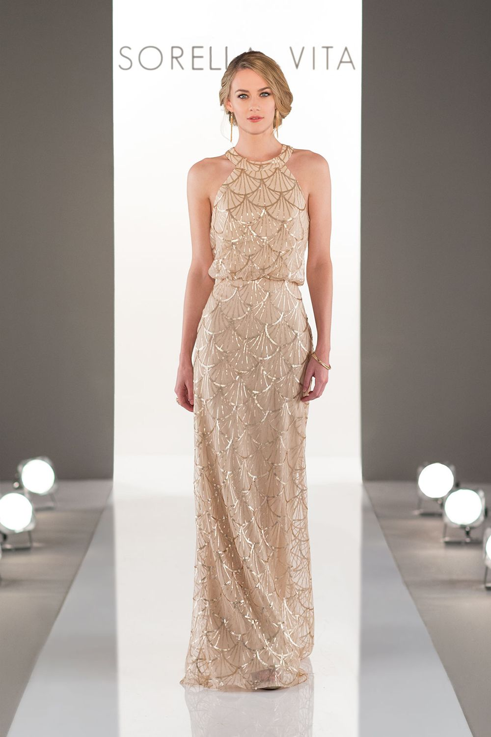 champagne bridesmaid dresses that your girls will love wedding