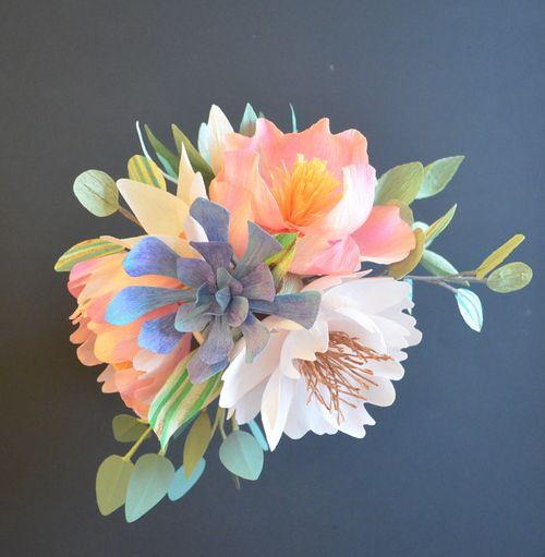 Dsc0566 2g homemade flowers pinterest flowers crepe dsc0566 2g crepe paper flowersflower mightylinksfo