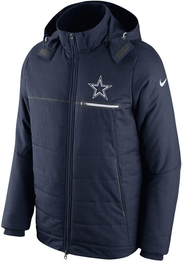 reputable site 1c494 6a831 Nike Men's Dallas Cowboys Sideline Jacket | Mens Athletic ...