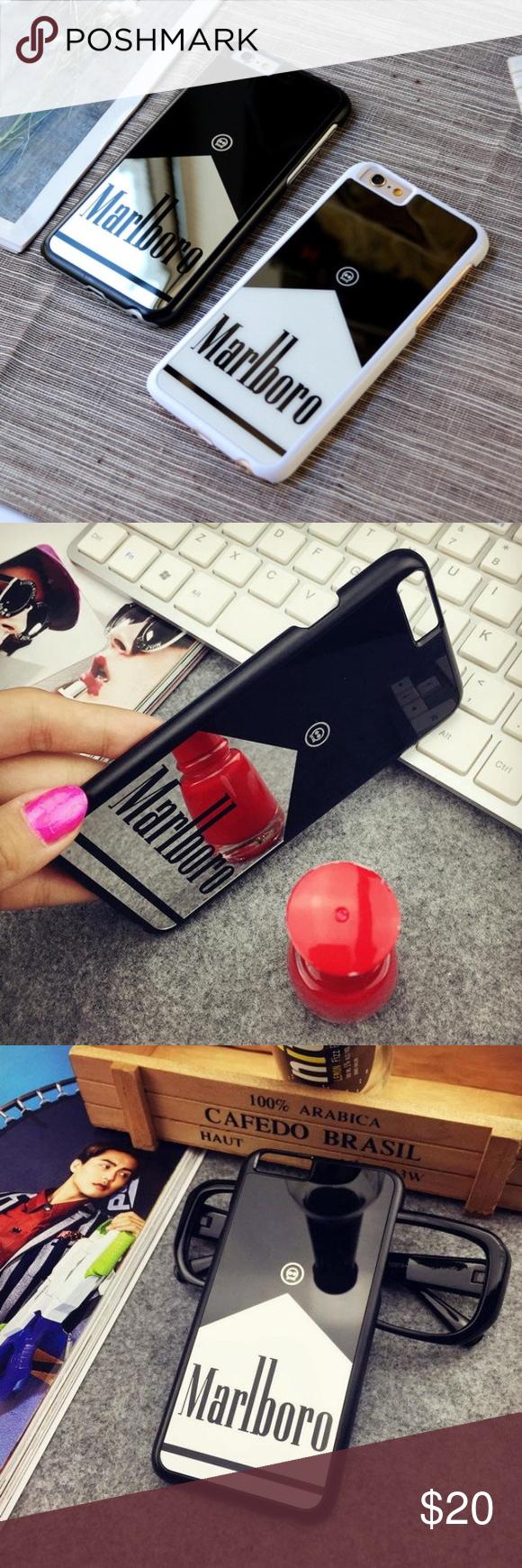 Black Marlboro iPhone 6/6s/6 Plus case Brand new still in