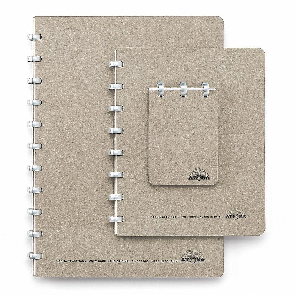 Blank Atoma A4 Notebook