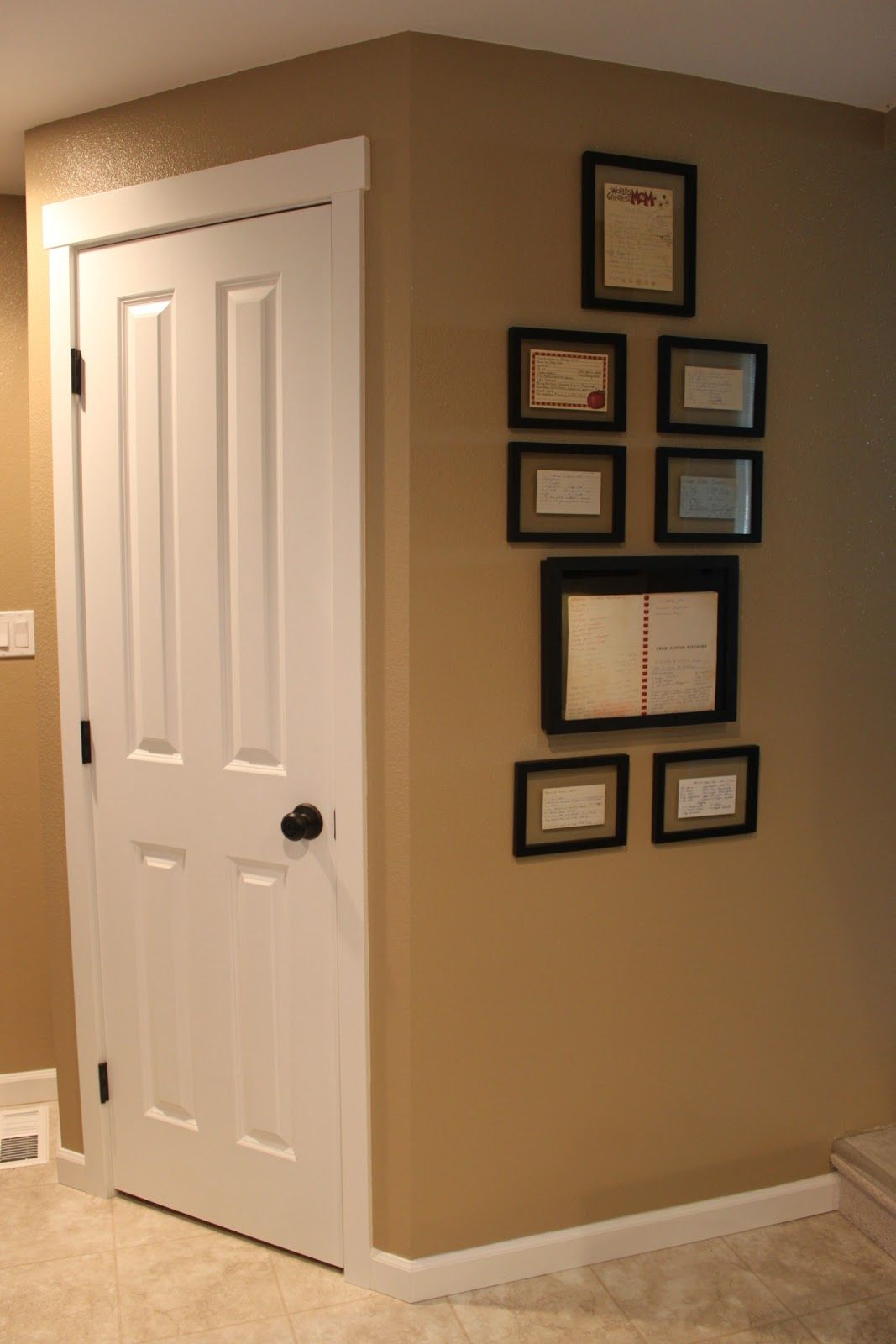 Kitchen Entryway Color For Entryway Behr Harvest Brown Paint Colors Pinterest