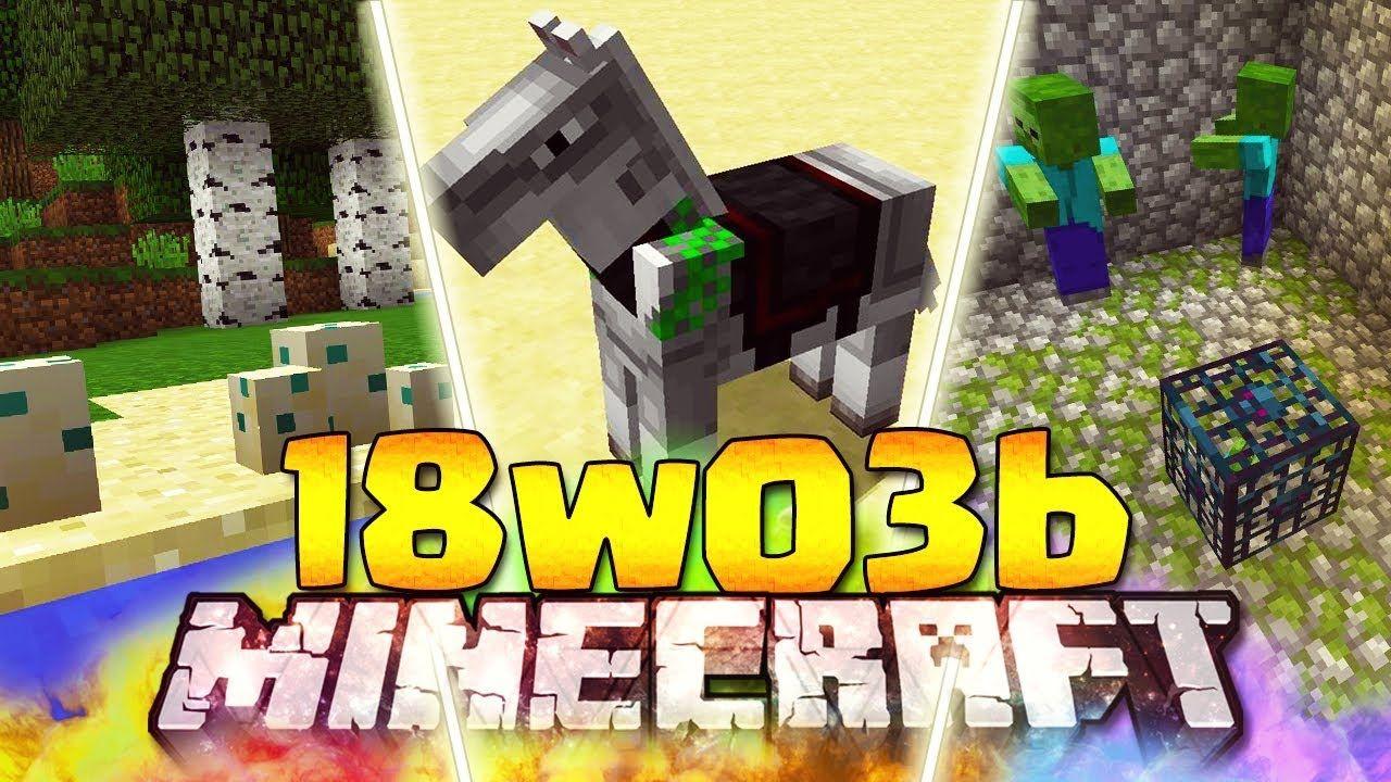 Minecraft 1.13 Snapshot 18w03b Download Minecraft 1