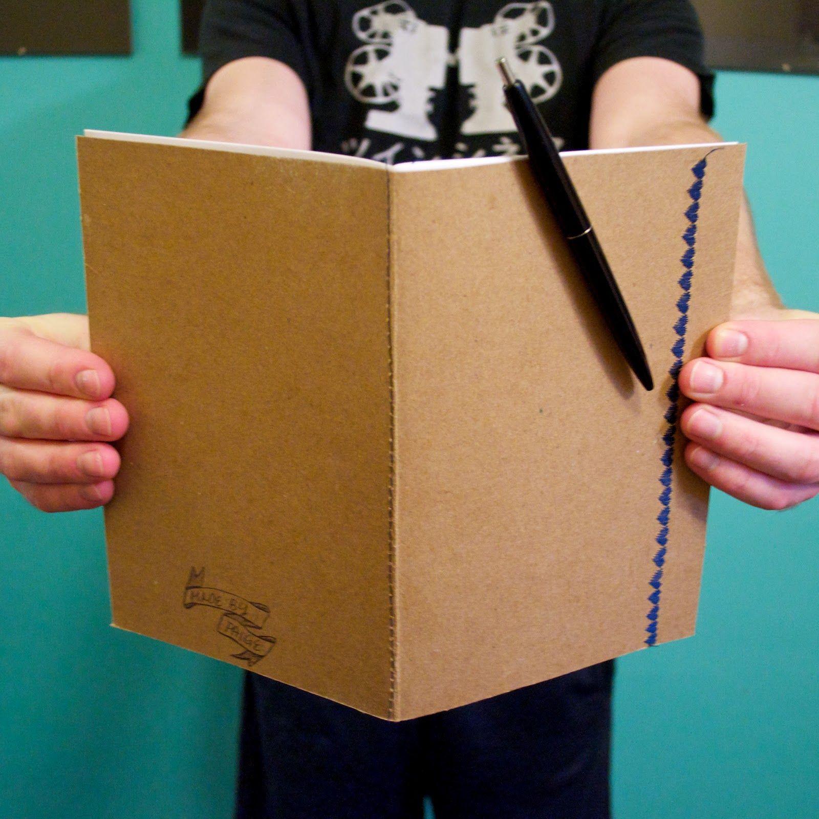 DIY: handmade notebooks