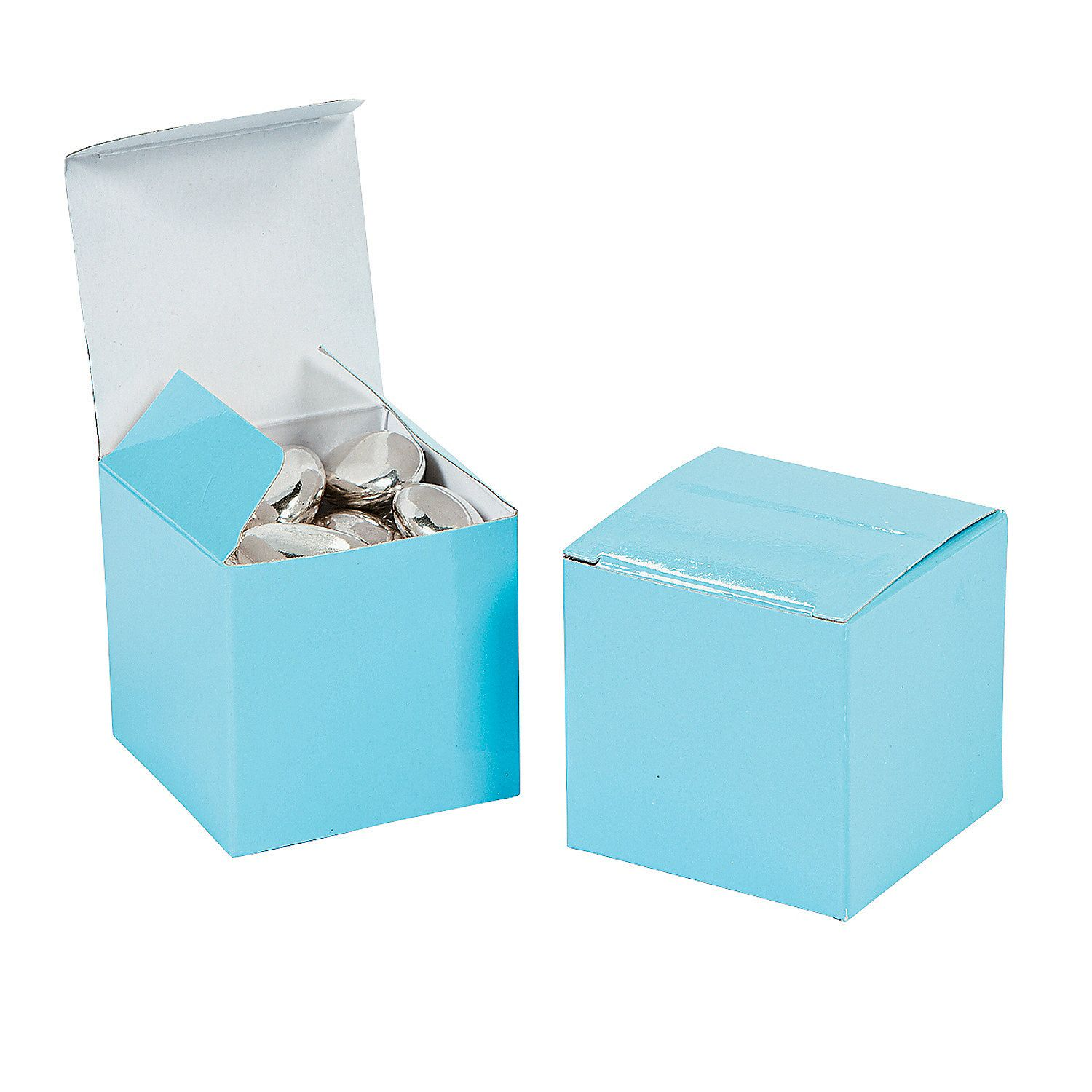 Mini Light Blue Favor Boxes | Bridal showers, Favors and Tiffany party