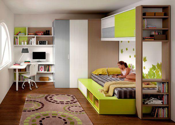 Cama tatami con altillo de 2 puertas novedades de mueble juvenil altillo dormitorios - Mobiliario juvenil barcelona ...
