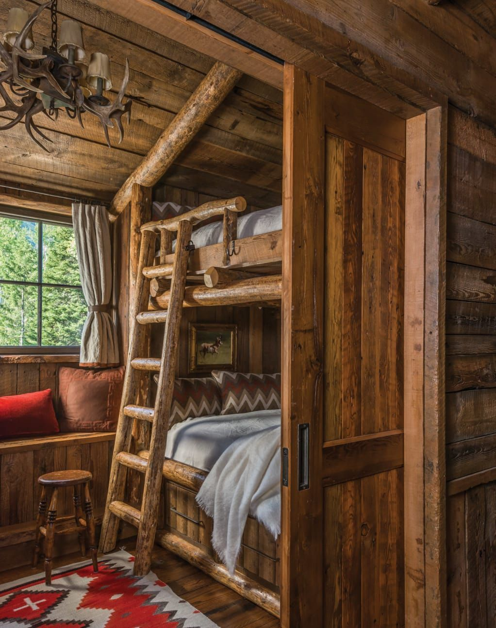 A New Old Rustic Log House Cabin Decor Rustic Bedroom