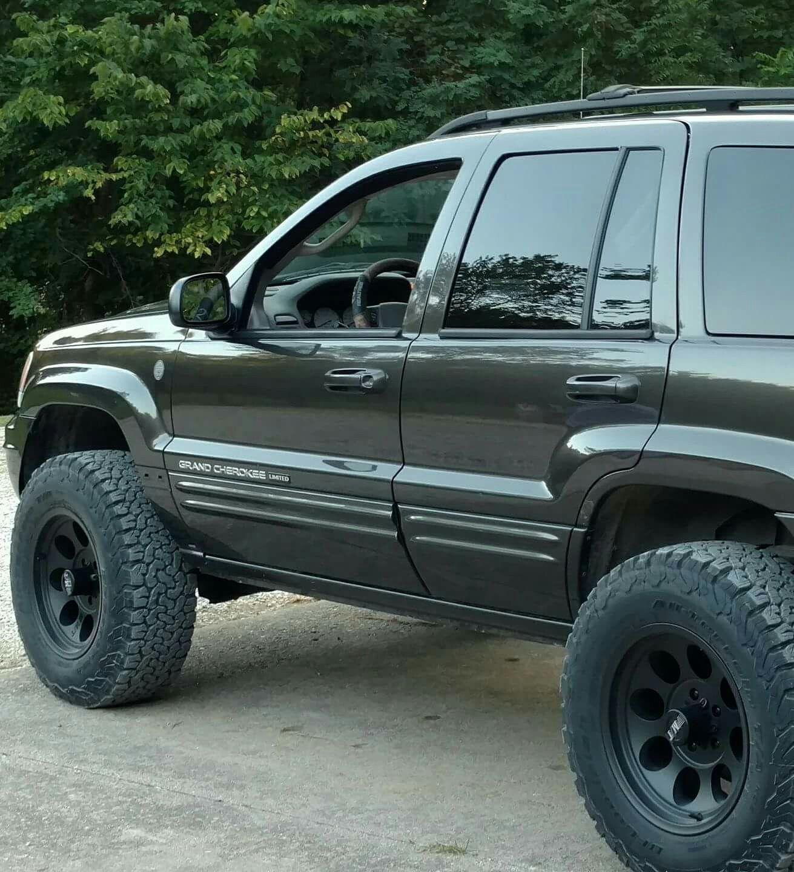 2004 Grand Cherokee Wj 3inch Iron Rock Offroad Bfg Ko2 Jeep Wj