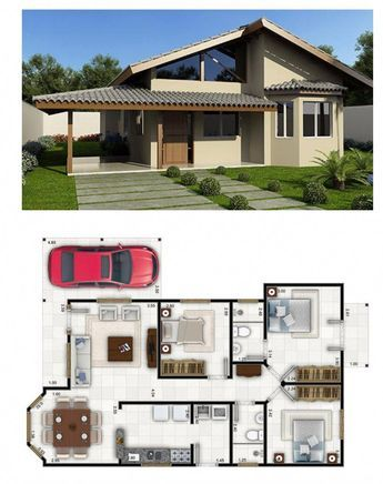 Arquitetura ideiascasas also best house plans images in rh pinterest
