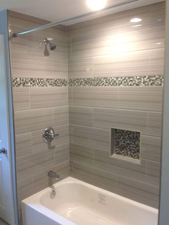 small bathroom shower tub tile ideas 39 Most Popular Bathroom Tile Shower Designs Ideas #