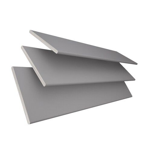 Jalousie Transparent Ebern Designs Ausführung: Grau, Größe: 200 cm L x 60 cm B