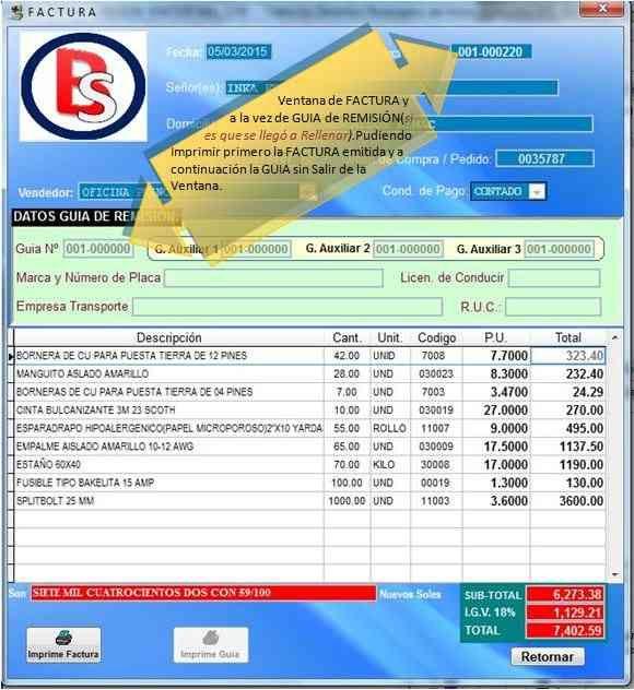 Software Sistema De Facturacion D Facil Uso P Emp Negocios Free Classified Ads Software Pie Chart