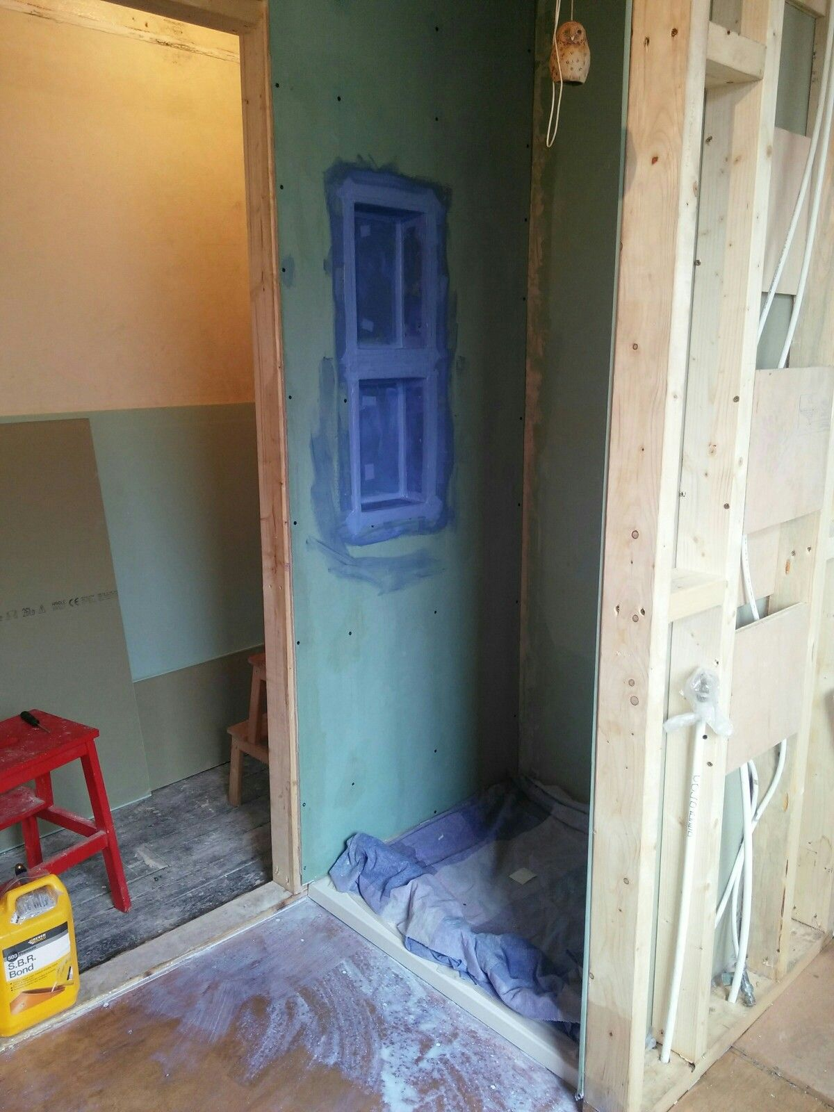 Building my shower cubicle and shower niche | 2016 project Shower ...