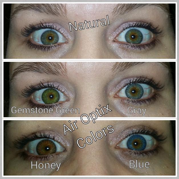 Air Opix Colors on Natural Hazel Eyes. Order 918893