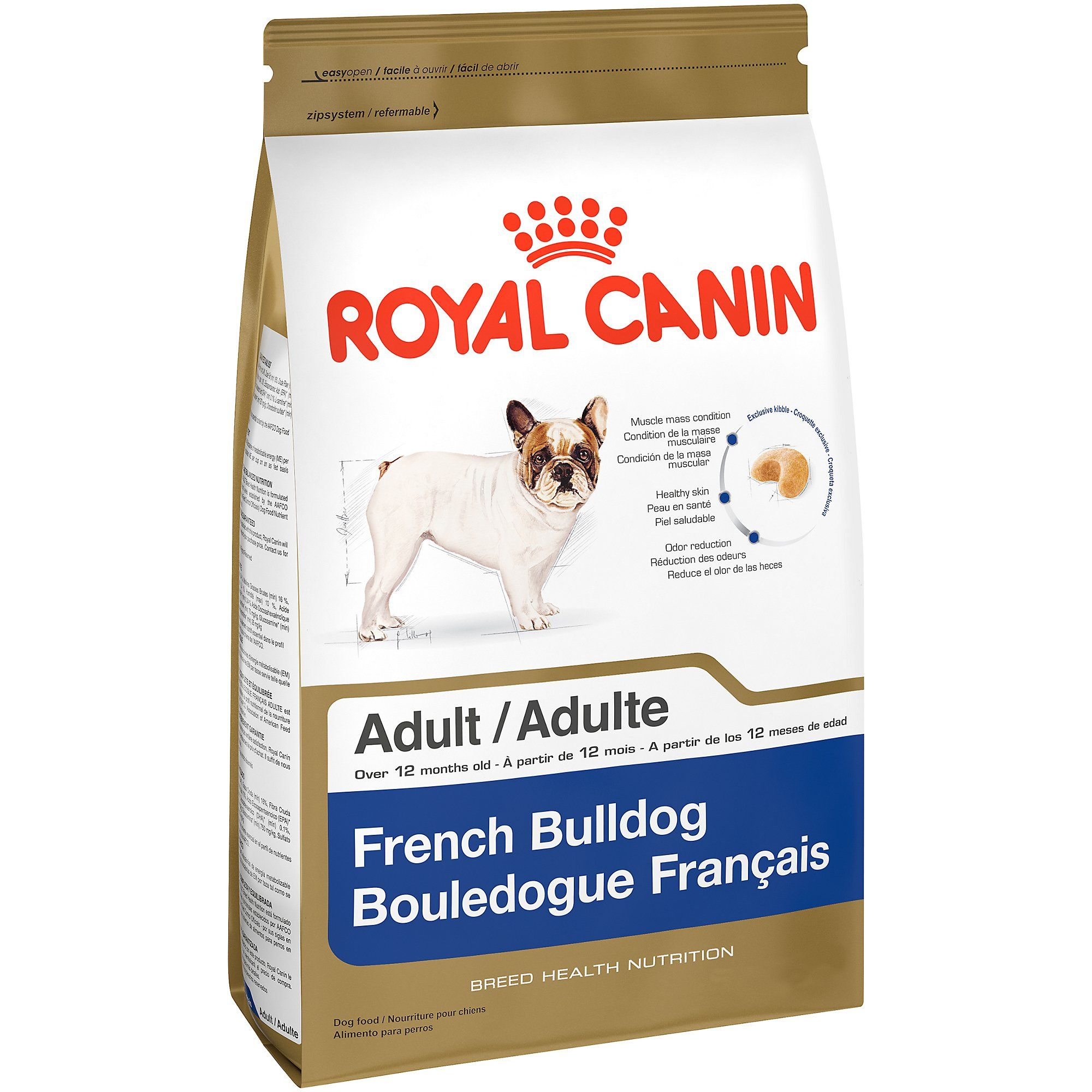 Royal Canin Breed Health Nutrition French Bulldog Adult Dry Dog