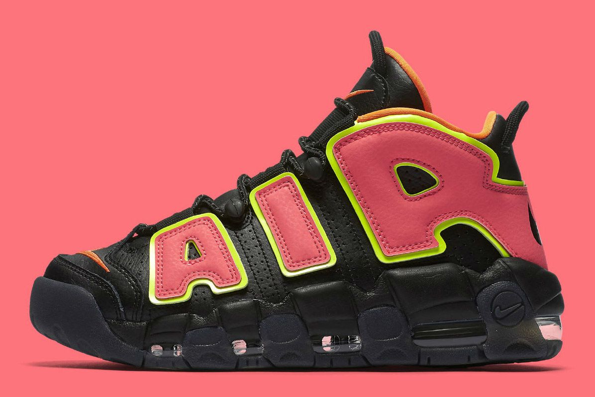 cafcf87abbb4b This Nike Air More Uptempo Packs a  Hot Punch  - Sneaker Freaker