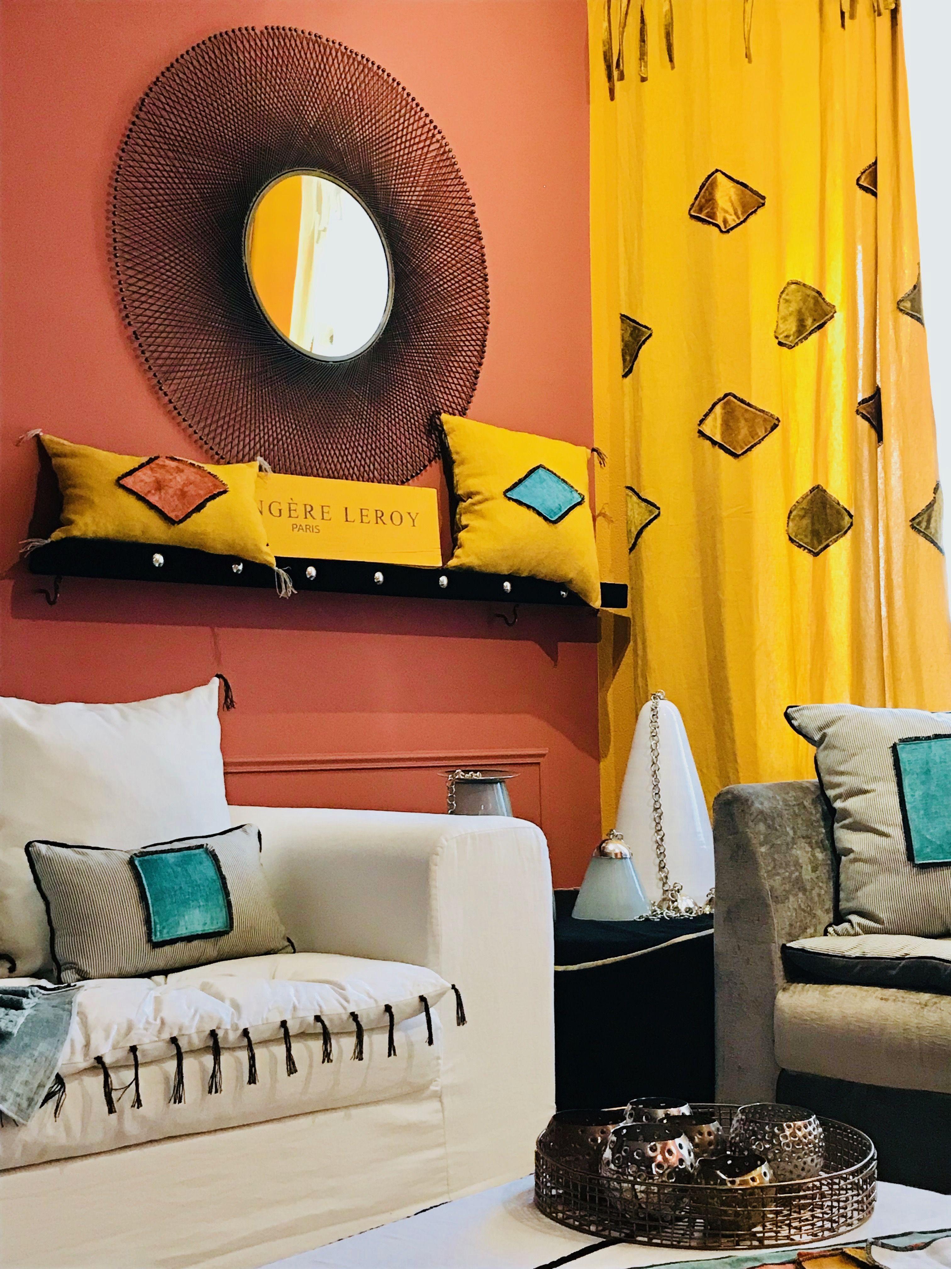 Canap Evoque En Lin Lav Blanc Et Son Sofa Cover