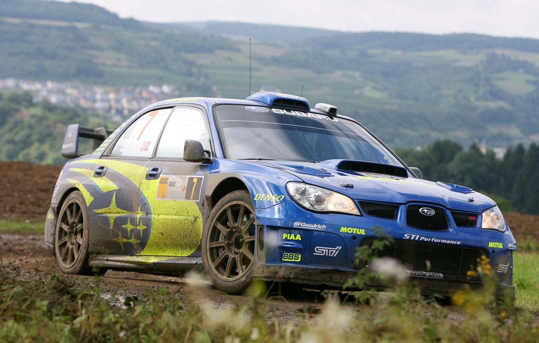 subaru wrx sti rally car - Google Search | Subaru WRC | Pinterest ...