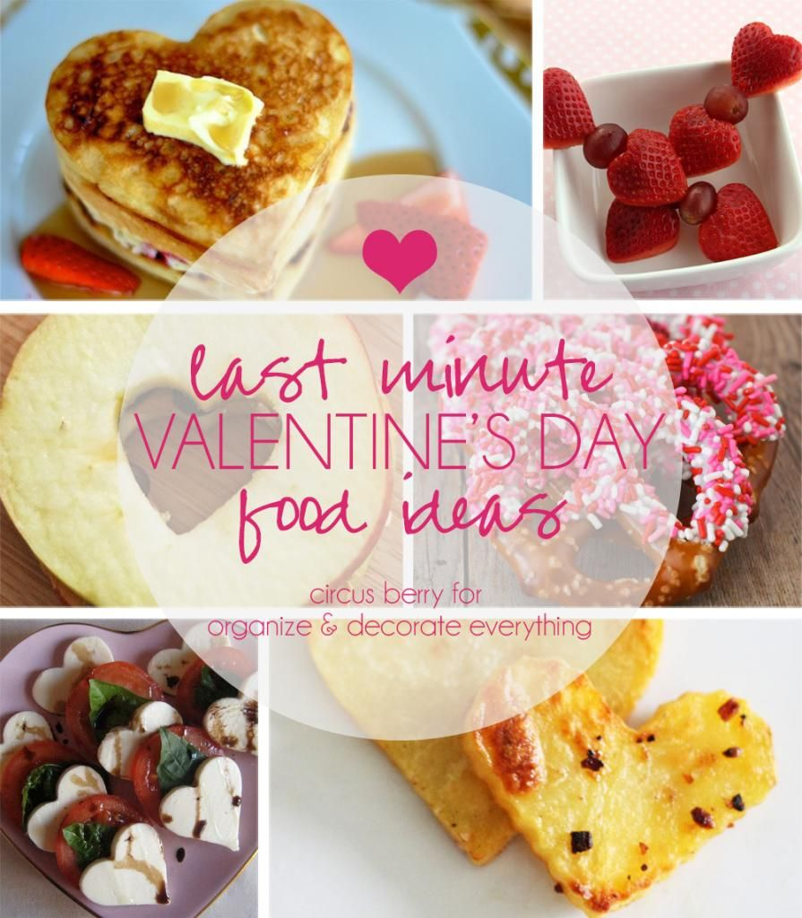 Last Minute Valentineu0027s Day Food Ideas   Party Contributor