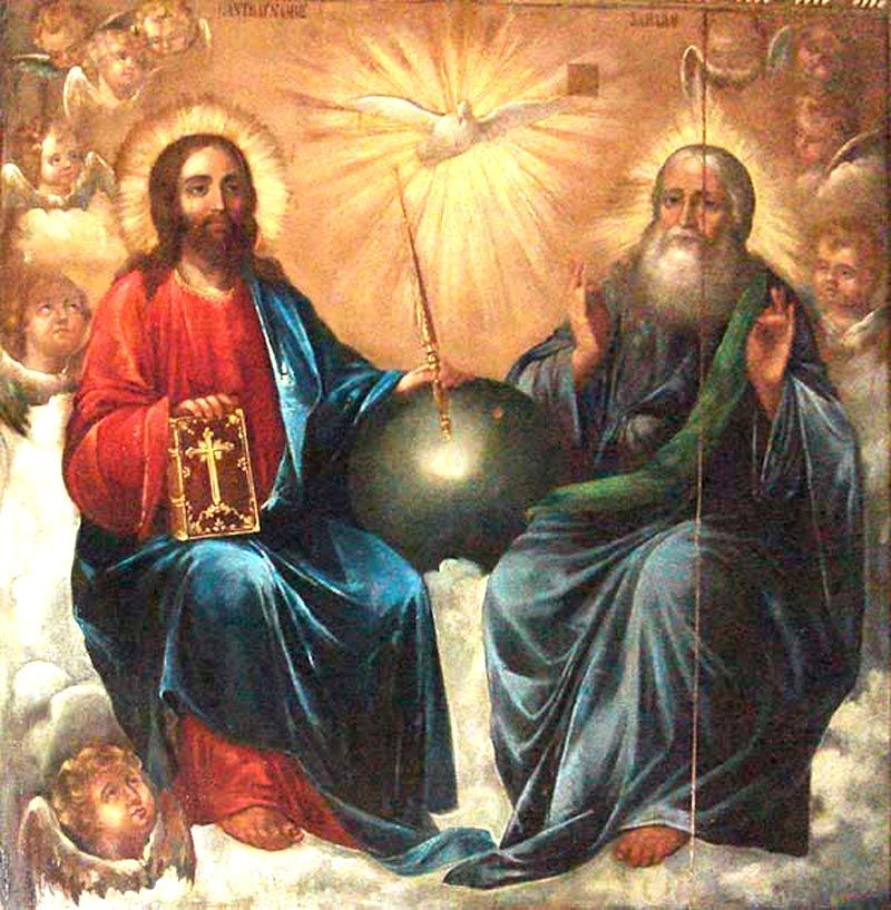 Novena to the Holy Trinity Day 6 Omnipotence of the Father, help my weakness and deliver me from the depth of misery. Wisdom of the Son,..............Devotions | DEVOTIO