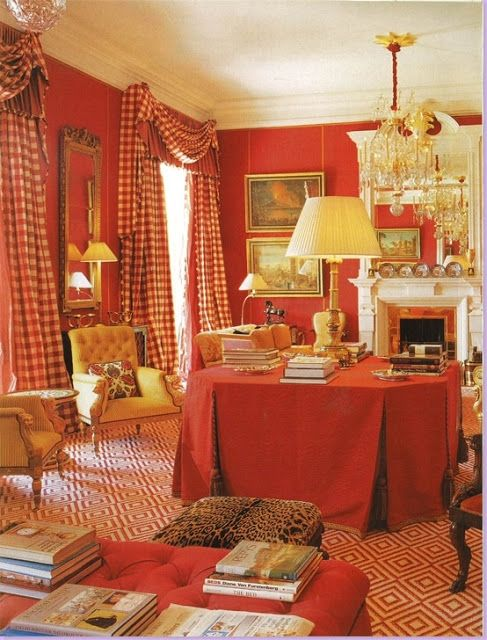 The French Tangerine: ~ the red room