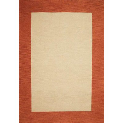 Wildon Home® Henley Hand-Tufted Cardinal Terra Cotta Area Rug | Wayfair