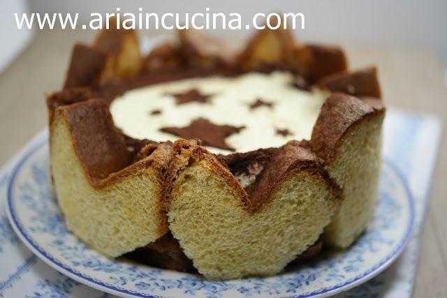 Kochen Blog von Air: Charlotte Pandoro mit Mascarpone und Kaffee