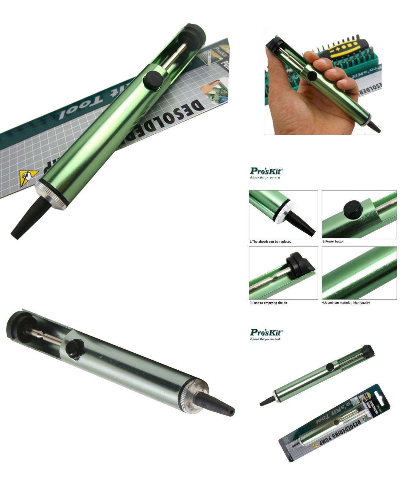 Visit To Buy 8pk 366d Anti Static 16cm Suction Tin Solder Suckers Bga Soldering Tool Kit 12 Different Tools Circuit Board Repair