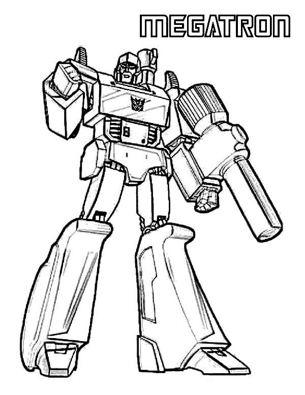 Megatron Picture Coloring Page Netart Transformers Coloring Pages Coloring Pages Coloring Pages For Boys