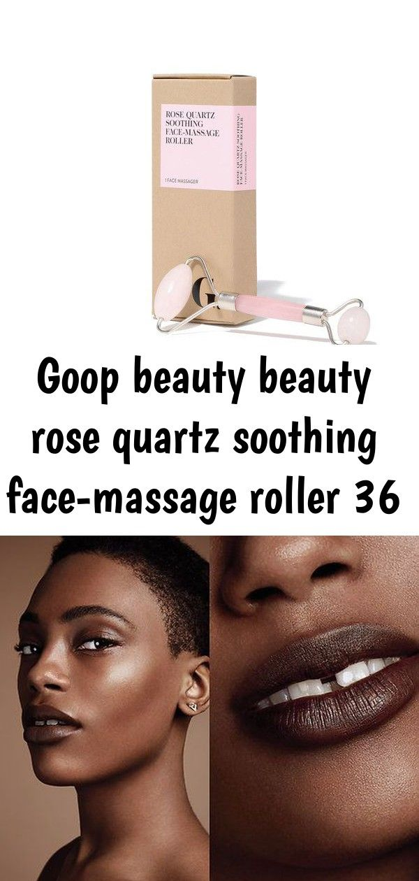 Goop beauty beauty rose quartz soothing facemassage roller 36 Bite Beauty Multistick  Cocoa 24 This dark chocolate multistick applies like a cream but wears like a powder...