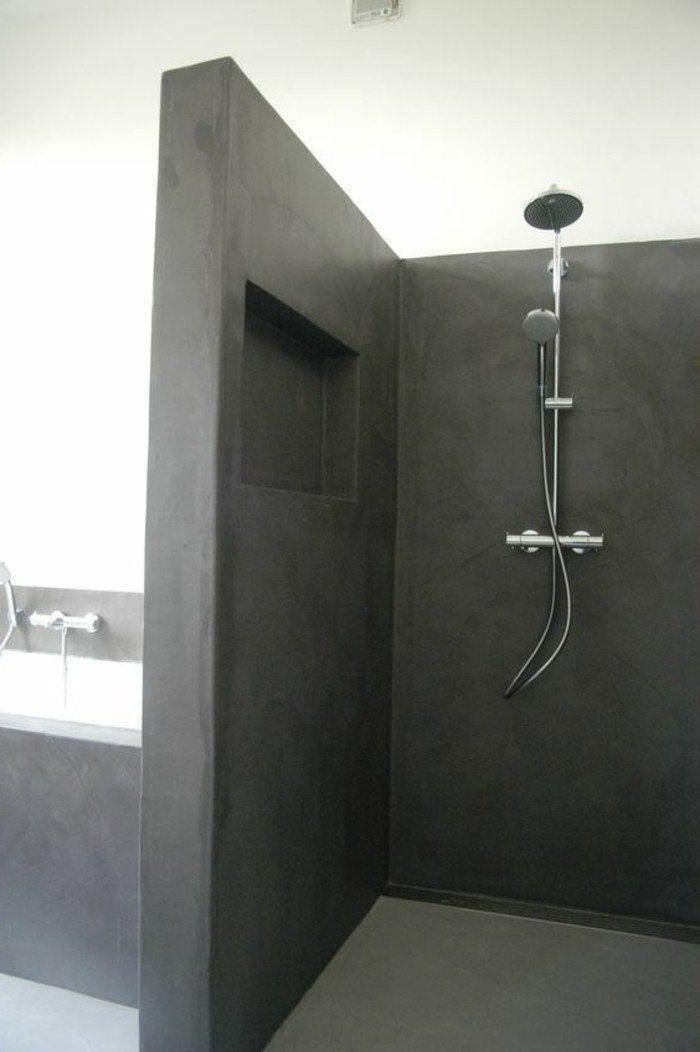 La salle de bain avec douche italienne 53 photos! Toulouse, Bath - salle de bains avec douche italienne
