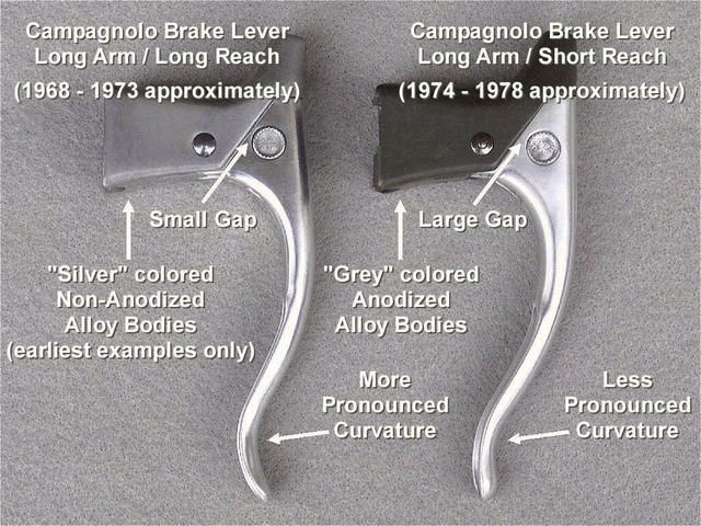 Campagnolo Record Brake Lever Details | bike • cycling | Vintage