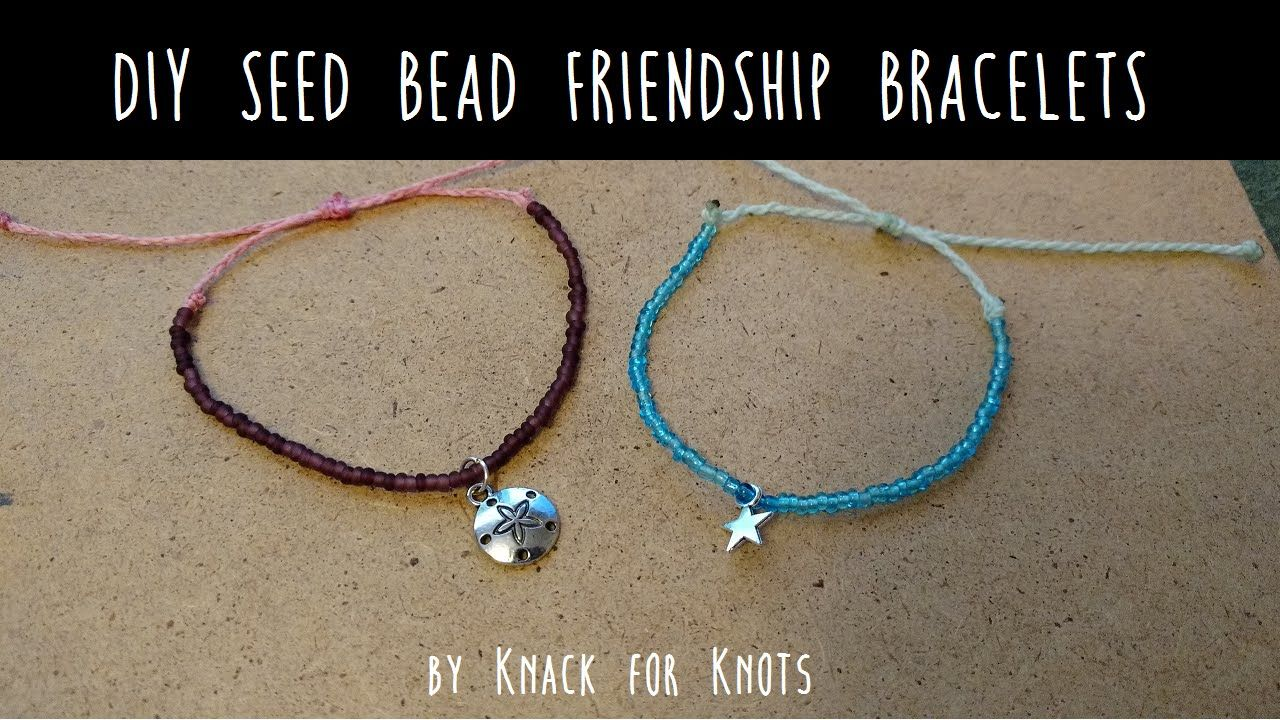 Diy Seed Bead Friendship Bracelet Inspired By Pura Vida Bracelets