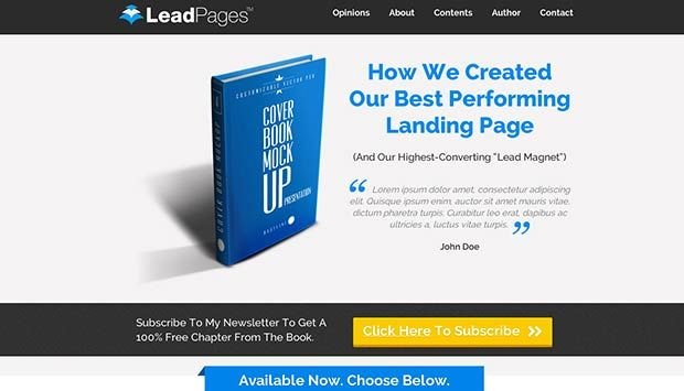 Opt In Landing Page Templates