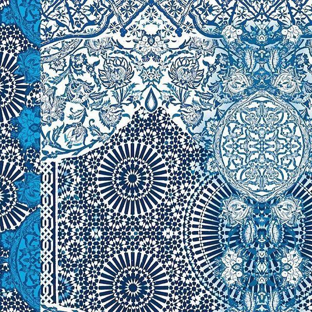 patternbankdesigner » patternbank victoriakrupp u2013 New #pattern - ikat muster ethno design