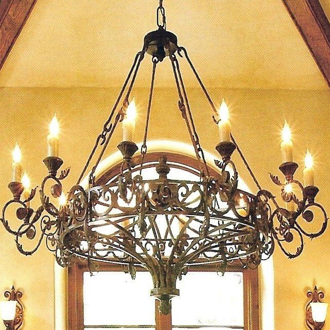 Rustic charm for the home kronleuchter - Outdoor kronleuchter ...