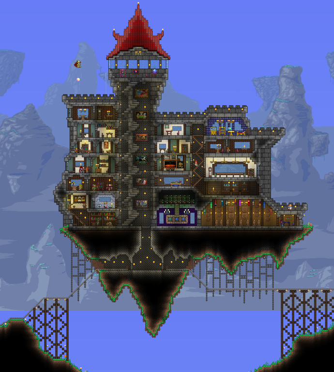 My 3rd Home. Started With A Wooden One, Then I Made A