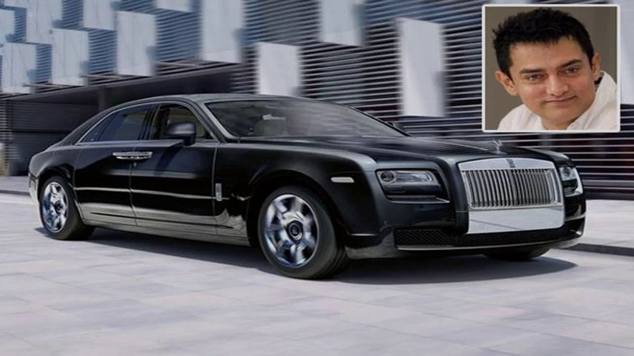 Bolleywood famous actors have a rolls royce cars rolls