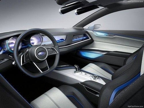 Subaru S Viziv Concept Car Embos Future Vision Of Innovation